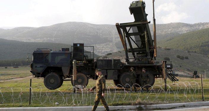 Sistemas de misiles antiaéreos Patriot (archivo)