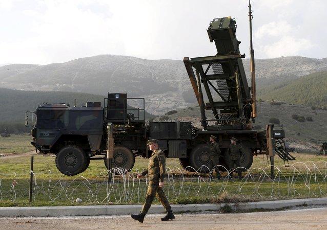 Sistemas de misiles antiaéreos Patriot en la base militar turca en Kahramanmaras (archivo)