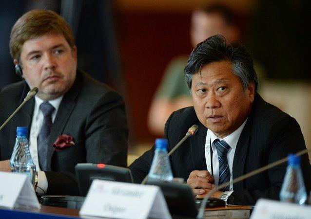 Serguéi Tsoi, subdirector general de la RusHydro