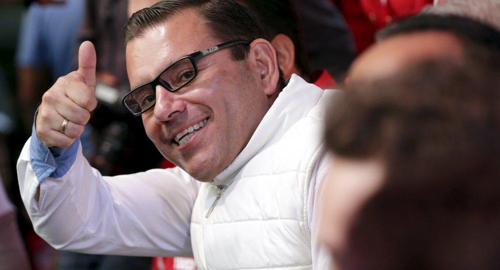 Manuel Baldizón, candidato por el partido Libertad Democrática Renovada (Líder)