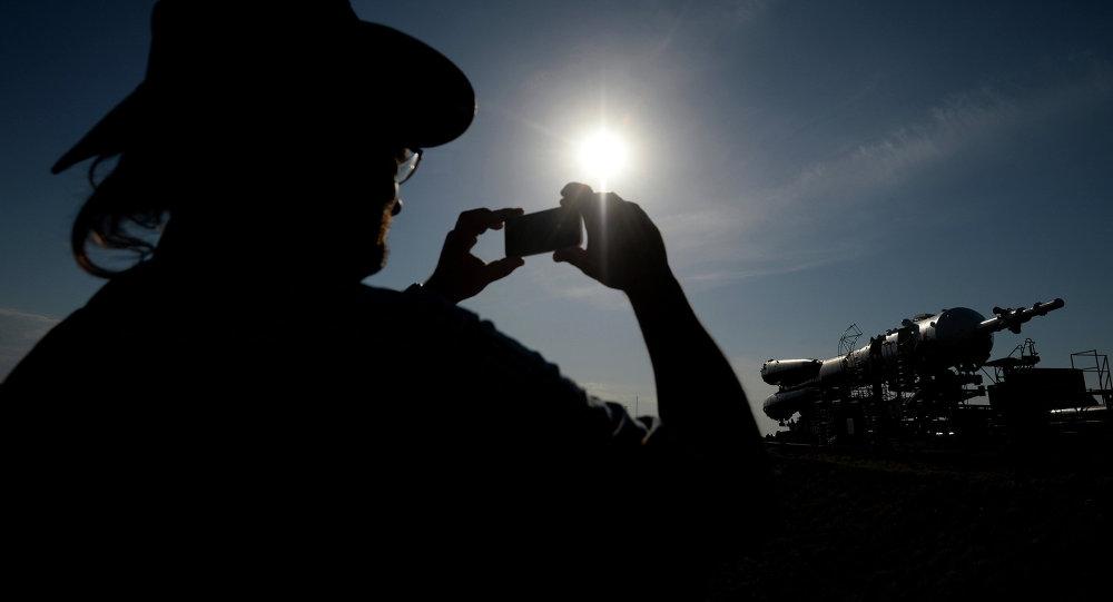 Un turista en cosmódrom Baikonur