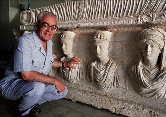 Jalid Asad, arqueólogo decapitado por los yihadistas del EI (archivo)