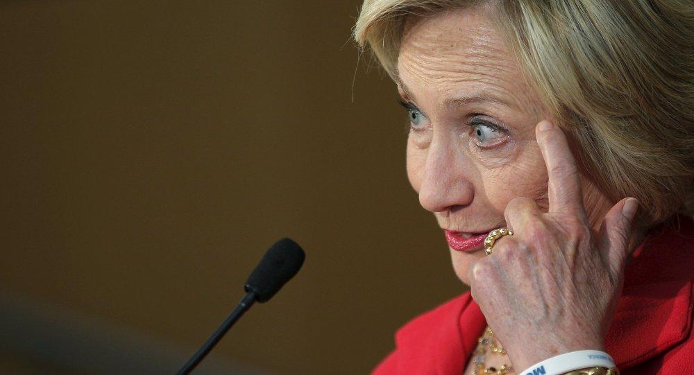 Hillary Clinton, precandidata demócrata y ex secretaria de Estado de EEUU