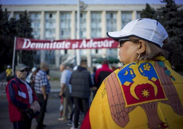 Protestas en Chisinau