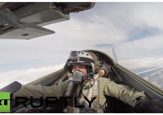 Un paseo a bordo del MiG-29