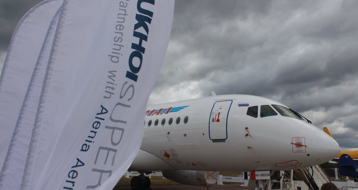 Avión Superjet 100