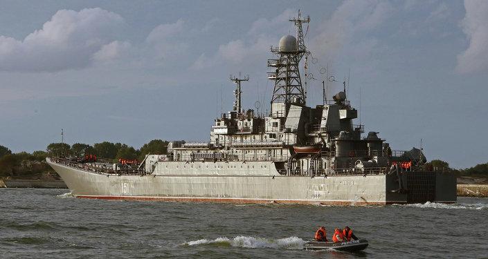 Buque de desembarco ruso Azov