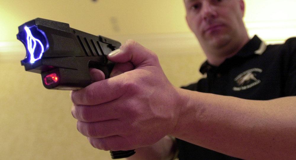 Pistola eléctrica Taser (archivo)