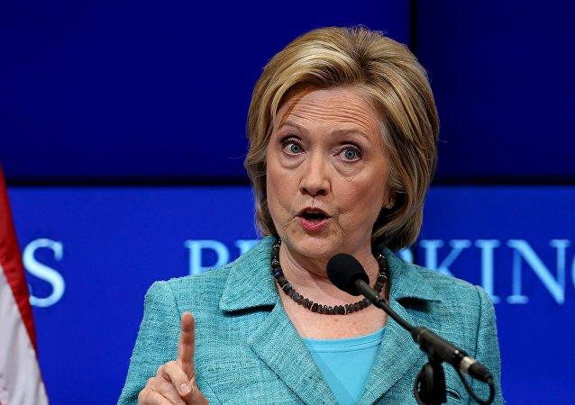 Hillary Clinton, precandidata en la carrera presidencial de EEUU