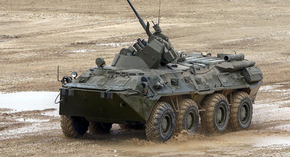 Un BTR-82A (imagen referencial)