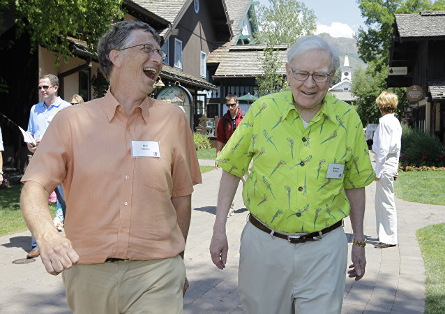 Bill Gates y Warren Buffett