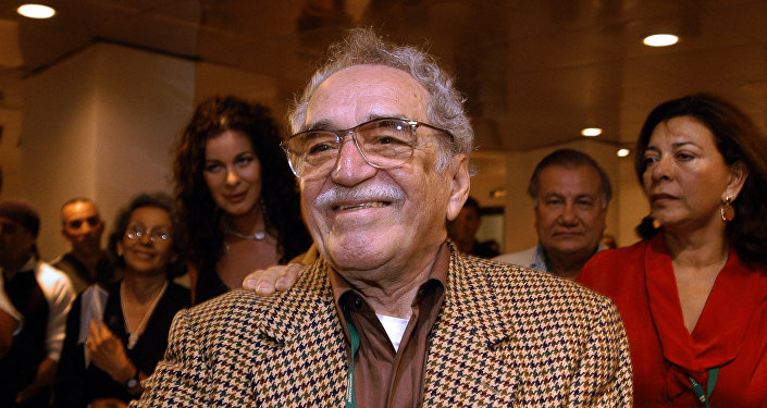 Colombian writer and Nobel Prize for Literature 1982 Gabriel Garcia Marquez attends 05 December, 2006 in Havana the inauguration of the XXVIII New Latin American Cinema festival.