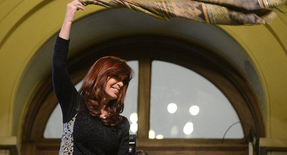 La presidenta de Argentina, Cristina Fernández de Kirchner (archivo)