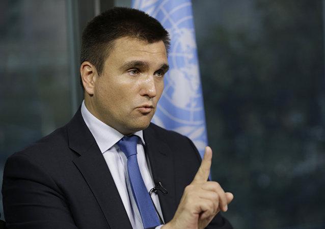 Pavló Klimkin, ministro de Exteriores de Ucrania
