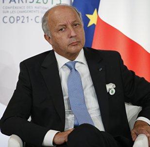 Laurent Fabius, ministro de Asuntos Exteriores de Francia