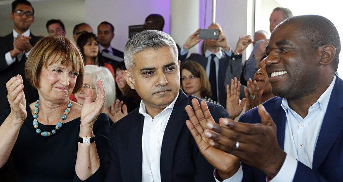Sadiq Khan, alcalde elegido de Londres