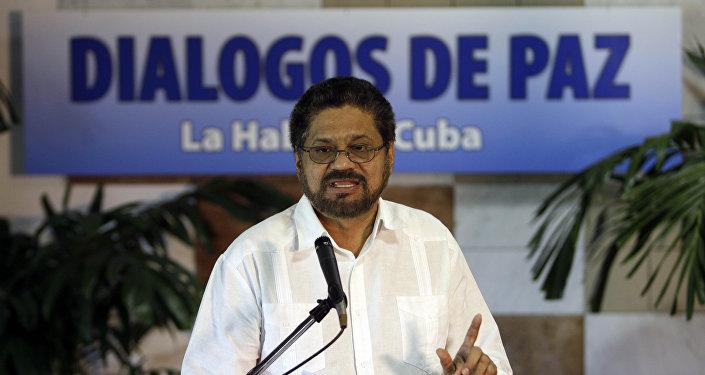 Iván Márquez, jefe de la guerrilla FARC