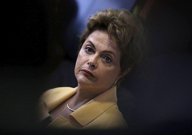 Dilma Rousseff, presidenta de Brasi