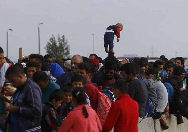 Refugiados en Austria