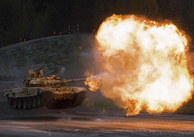 Tanque T-90A