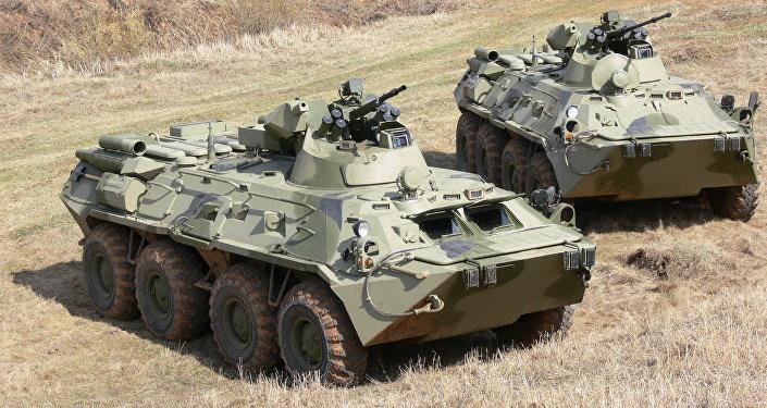 Transportes blindados BTR-82