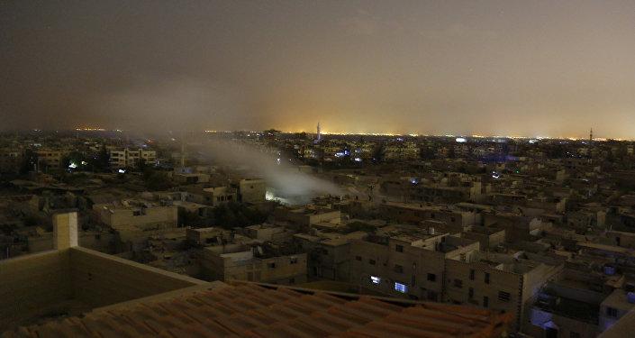 Situación en la ciudad Duma, Siria (archivo)
