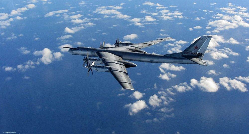 Bombardero ruso Tu-95