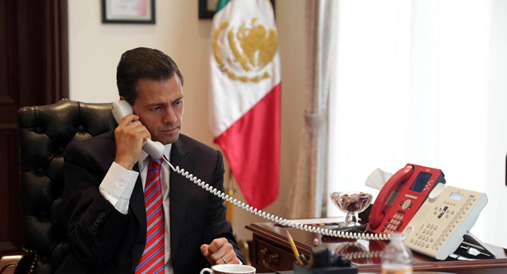 Cancela Peña Nieto visita a Estados Unidos tras llamada