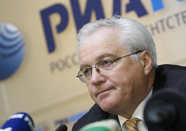 Vitali Churkin, representante ruso ante la ONU