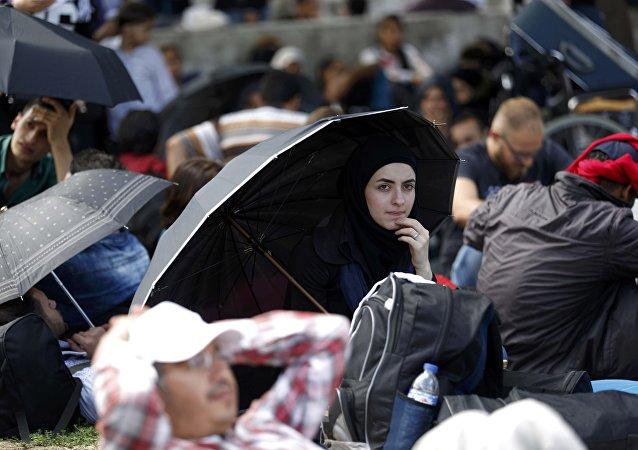 Refugiados en Turquía