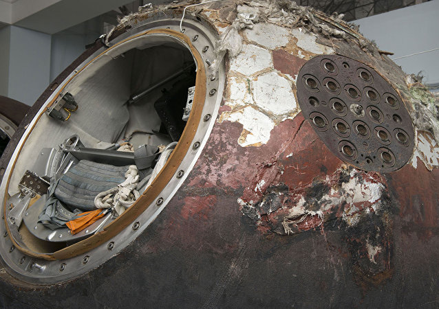 Módulo de descenso Vostok 6
