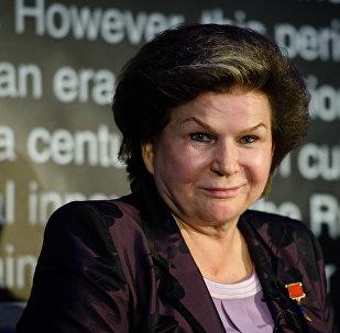 La primera mujer cosmonauta, Valentina Tereshkova