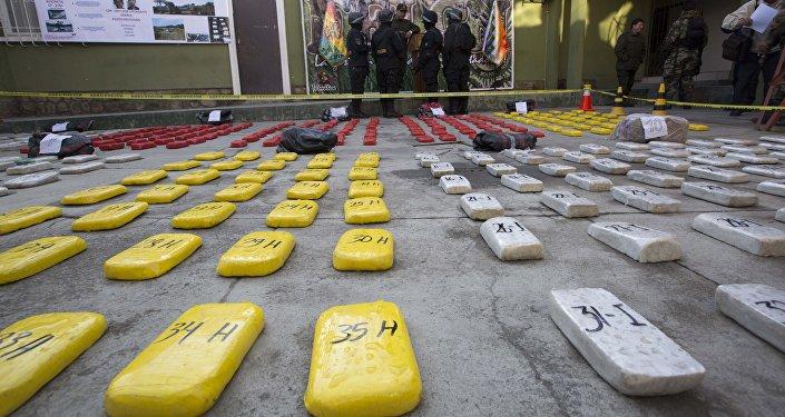 Cocaína en La Paz, Bolivia