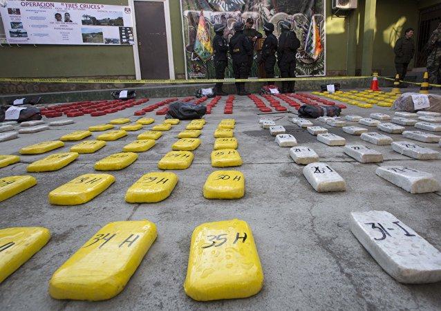 Cocaína en La Paz, Bolivia (archivo)