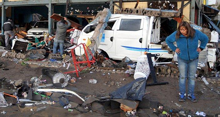 Consecuencias del terremoto en Chile
