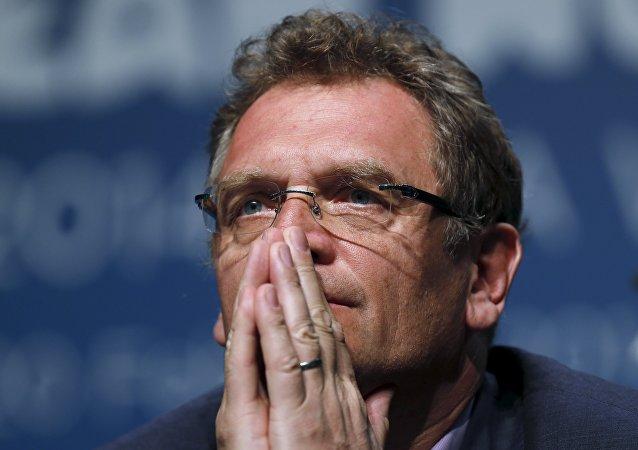 Secretario general de la FIFA, Jérôme Valcke