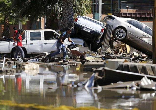 Consecuencias del sismo en Coquimbo, Chile