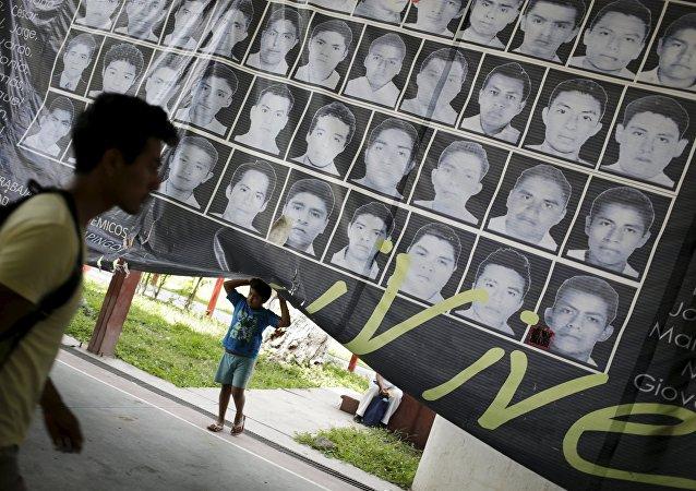 Fotos de los estudiantes desaparecidos en el estado de Guerrero