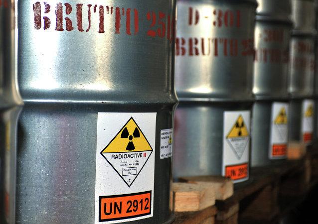 Contenedores con uranio (imagen referencial)
