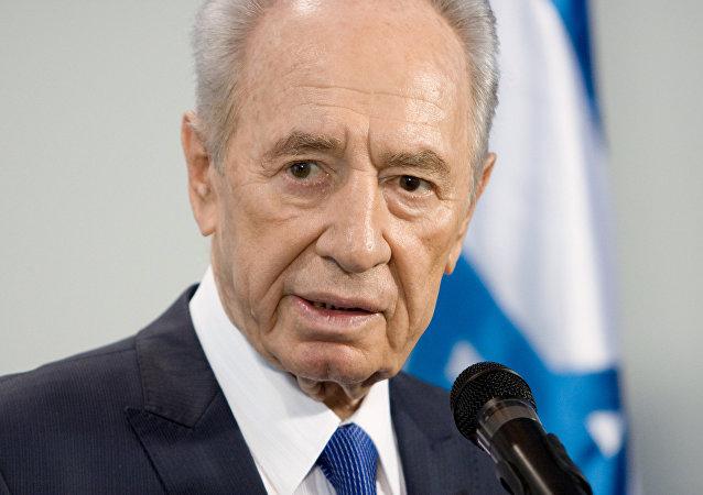 Shimon Peres, expresidente de Israel