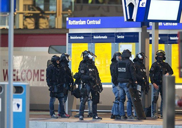 Policía de Rotterdam (archivo)