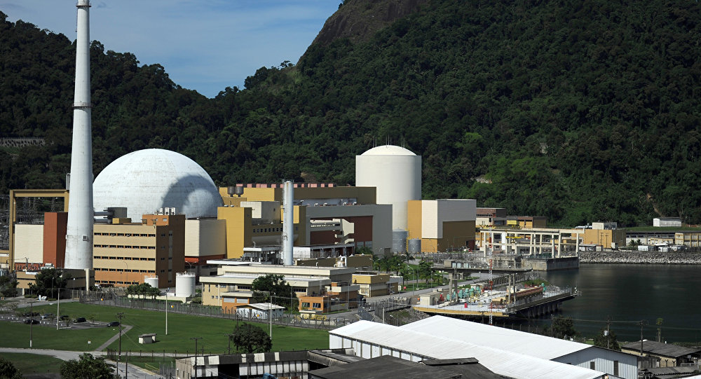 Central Nuclear Angra 2 en Brasil