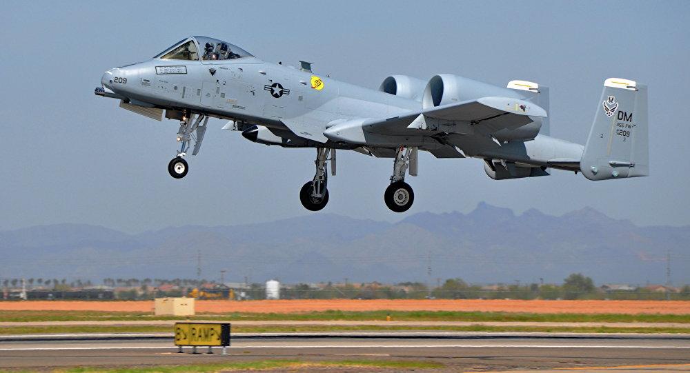 Avión de ataque A-10 Thunderbolt II
