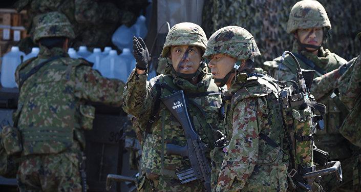Soldados del Ejército de Japón (imagen referencial)