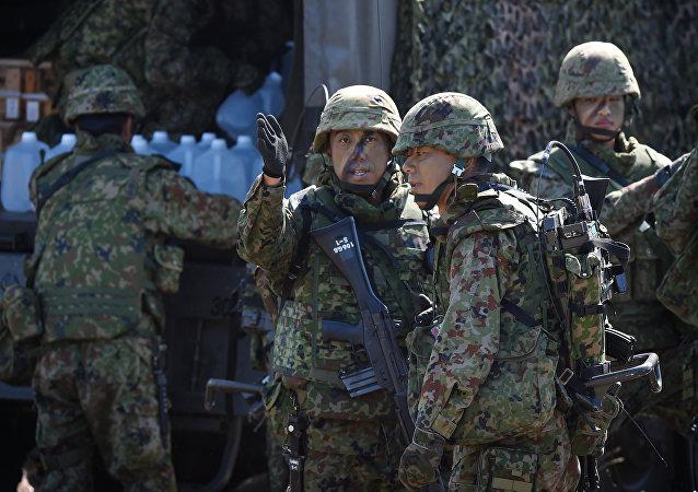 Soldados de Japón