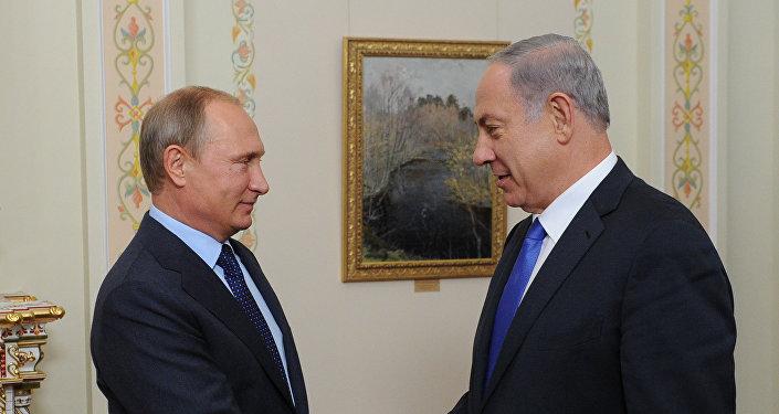 Los mandatarios de Rusia e Israel