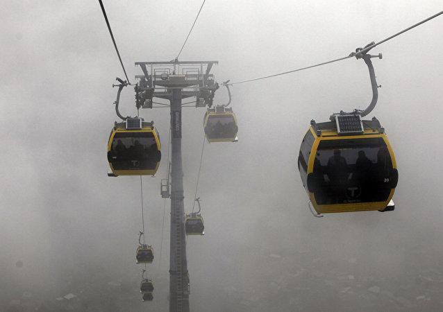 Teleférico La Paz-El Alto (imagen referencial)