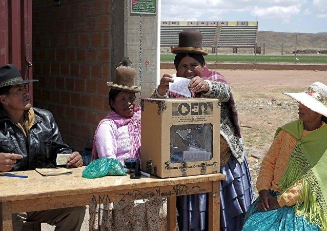 Referéndum en Bolivia (archivo)