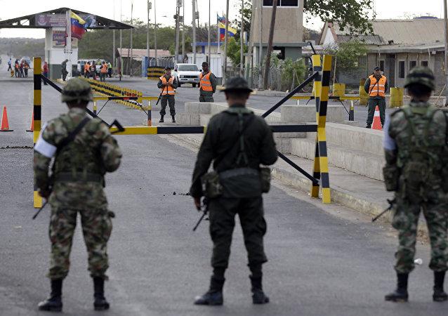 Patrullaje en la frontera entre Venezuela y Colombia (archivo)
