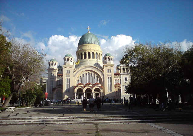 La iglesia del Santo Apóstol Andrés en Patras